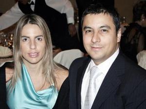 María Blanca Fernández y Alex Moreno.