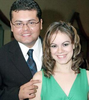Cristóbal Jaime Gómez y Ana Lucía Corpus.