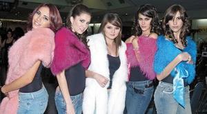 Ana Paula Ramírez, Luzma Arriaga, Sara Cruz, Daniela Sesma y Palmira Martín.