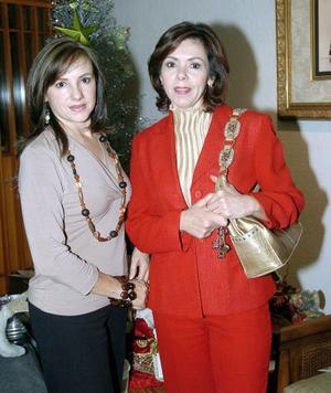 María Luisa de Orduña y Guadalupe Quintero de Villalobos.