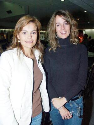 Pilar Espinoza de Villarreal y Ana Carmen Tricio de Sesma.