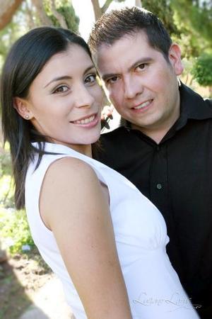 Pamela Rodríguez Venegas y Luis Guillermo Hernández Aranda.
