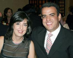 María Cristiana de Díaz y Abelardo Dáz Garza.