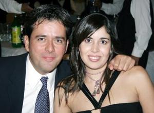 Gerardo y Naxiely Torres.