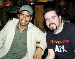 Alejandro Ramírez y Juan Carlos Lozano.