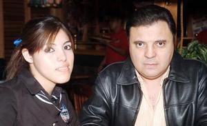 <b>19  noviembre 2005</b><p Adriana Salinas y Francisco Leal Metlich.