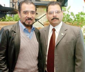 Francisco Hernández Juárez y Romario Martínez Quiñones.
