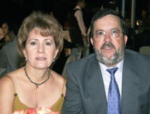 Irma de Borbolla y José Luis Borbolla.