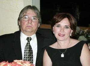 Ignacio Obeso y Estela Reed de Obeso.