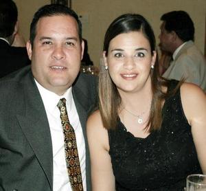 Ricardo y Natalia Zarsosa.