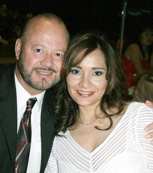 Rodolfo y Sandra Garza.