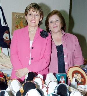 Tere García de Herrera y Cristina Herrera de Cobos.
