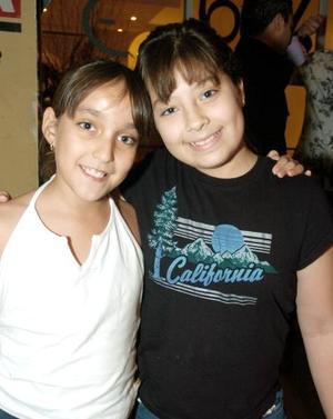 Rebeca Montes y Ana Cristina Delgado.