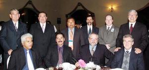 Juan Zermeño, Marcelino Jiménez, Marcelino Jiménez Jr., Manuel Casas, Polo Aguilarach, José Luis Zavala, Juan Carlos Boffa, Gabriel de León, Alfredo Madero y Alger Salazar.