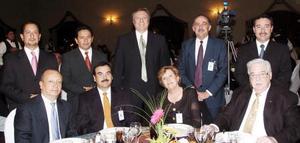 Martín Hernández, Rubén Hernández, Juan Carlos, Juan José Aguilera, Jaime Manrique, Rafael Recillas, Fernando Orozco, Magdalena Leal y Sergio Martínez.