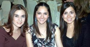 Yolanda Velázquez, Marcela Foglio y Marthy Dávila.
