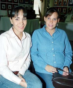 Ivette Monroy y Marcela Torres.