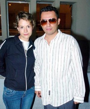 Alejandro Estrada y Alicia Casalde.