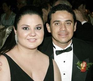 Claudia de Pedroza  y Fernando Pedroza.
