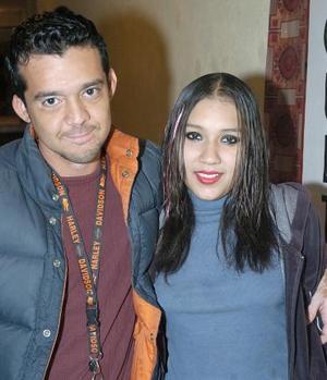 Carlos Covarrubias y Rosa Sosa.