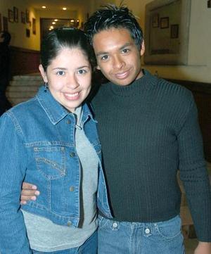 Ernesto Rubio y Jacqueline Dávila.