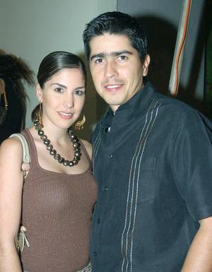 Gabriela Díaz de León y Marcelo Obeso.