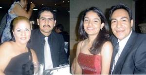 Luz Celia de la Fuente, Ramón Vélez, Mónica López y Omar Álvarez.