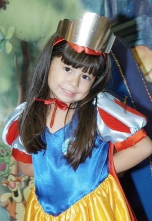 Ivana Torres Guerrero celebró sus cuatro años de vida con una alegre fiesta.
