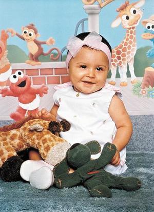La pequeña Jimena Delgado Herrera festejó su primer cumpleaños.