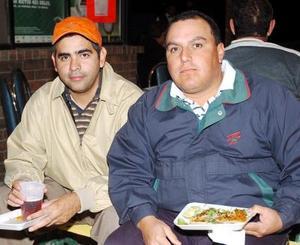 Carlos Solares y Víctor Bretado.