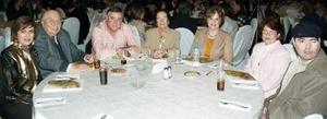 Coty de Martín, Roberto Tohmé, Carlos Martín, Ana Mary Bringas de Martín, Ana Mary Martín de Rosas, Patricia  Torre y Chelayo Villarreal.