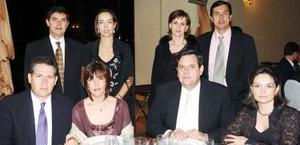 José y Rosarín Arias, Juan Carlos y Ana Claudia  Arias, Antonio y Cony Dueñes, Eduardo y Verónica Arias.