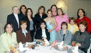<b>22 de noviembre 2005</b><p> Luzma de Castro, Emilú Garza, Coco de Valles, Edna, Sonia, Silvia, Margarita, Yolanda, Estela, Mary, Rebeca, Blanca, Cristina, acompañañor a Tuty.