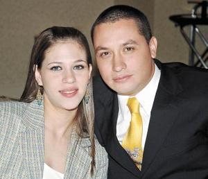 Elena  Sadde de Barrios y Carlos Barrios.