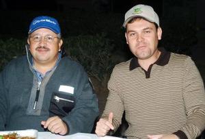 Jorge Sánchez y Camilo Mexsen Flores.