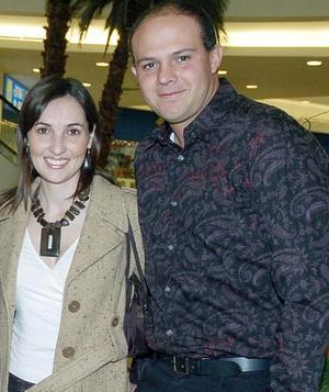 <b>23  de noviembre 2005</b><p> Manuel y Mariana Portilla.