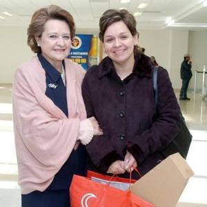 María Luisa Fernández y María Lucía López viajaron al DF.