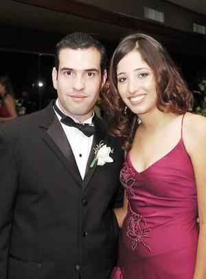 Rolando González y Karla Villarreal.