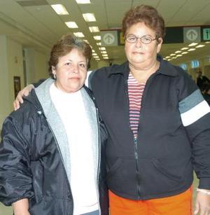 <b>25 de noviembre 2005</b><p>  Martha y Elizabeth Núñez viajaron con destino a Tijuana.