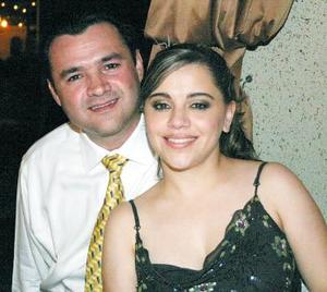 José Samaniego y Laura Torres Romo.