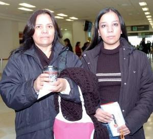 Margarita Martínez y Patricia Valenzuela, viajaron a Tijuana.