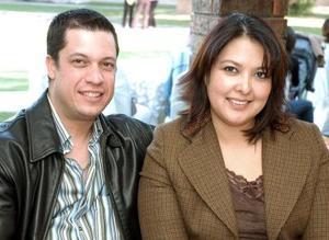 Alaín y Miriam Sánchez.