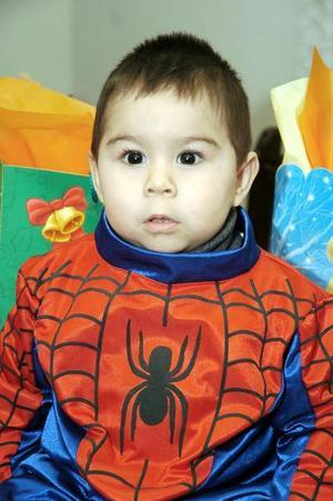 El pequeño Salvador Cabrera García celebró su segundo cumpleaños de vida.