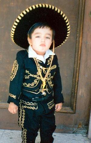 <b>27 de noviembre</b><p> Luis Daniel Rosales Muruaga cumplió tres años de vida.