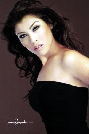 Miriam Alejandra Valencia Soto, en una foto de estudio