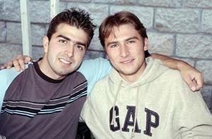 Óscar Sánchez y Carlos Zavala