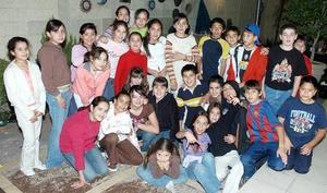Con una divertida fiesta Mary Carmen Toraño del Hoyo, celebró su cumpleaños 12, la acompañaron numerosos amigos.