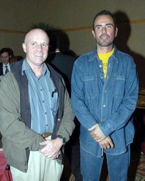 Claudio Sánchez y Gerardo Beuchot