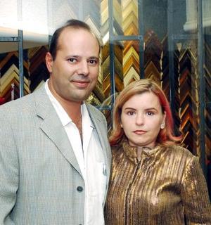 Fernando Casas y Pilar González de Casas.