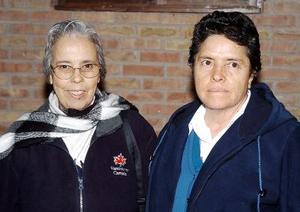 Gloria Flores Berlanga e Irma Muñoz Pérez.